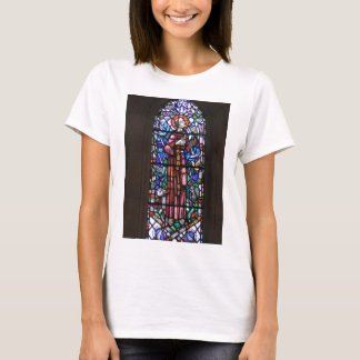 St Francis of Assisi stained glass T-Shirt