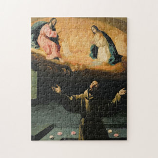 St. Francis of Assisi,The Miracle of the Roses Jigsaw Puzzle