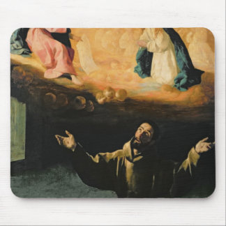 St. Francis of Assisi,The Miracle of the Roses Mouse Pad