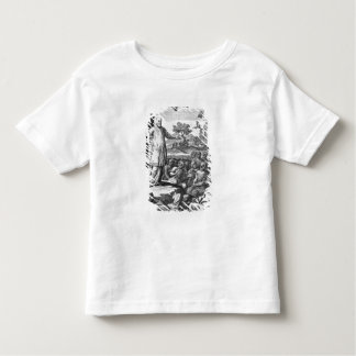 St. Francis of Sales  preaching to the Toddler T-Shirt