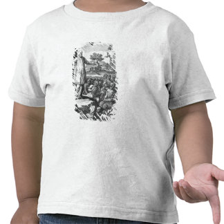 St. Francis of Sales  preaching to the T-shirt
