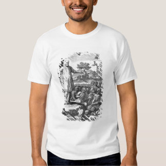 St. Francis of Sales  preaching to the Tshirts