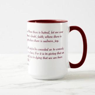St. Francis Prayer Mug