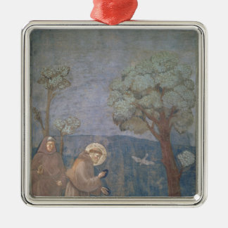 St. Francis Preaching to the Birds, 1297-99 Christmas Ornament