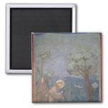 St. Francis Preaching to the Birds, 1297-99 Fridge Magnet
