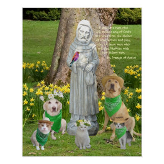 St. Francis Quotation Posters