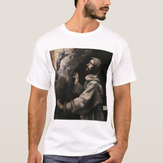 St Francis Receiving the Stigmata T-Shirt