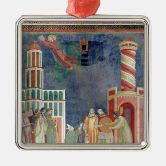 St. Francis Releases the Heretic, 1297-99 Christmas Ornament