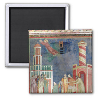 St. Francis Releases the Heretic, 1297-99 Square Magnet