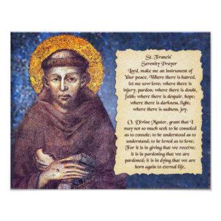 St Francis' Serenity Prayer Photo Art