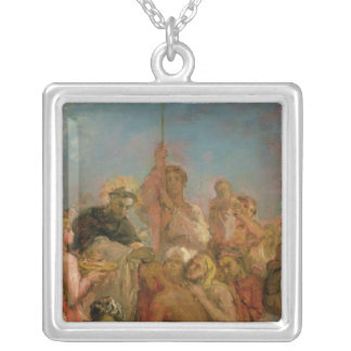 St. Francis Xavier Silver Plated Necklace