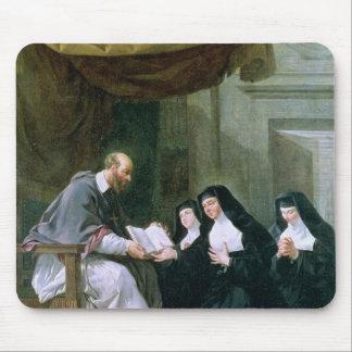 St. Francois de Sales  Giving the Rule Mouse Pad