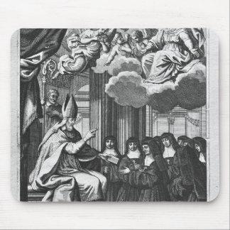 St. Francois de Salles  Giving the Rule Mouse Pad