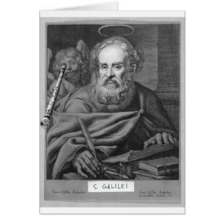 St. Galileo notecard Note Card