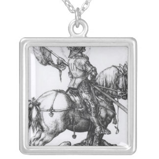 St. George and the Dragon, 1508 Silver Plated Necklace