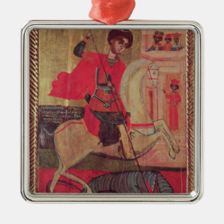 St. George and the Dragon, 1667 Christmas Ornament