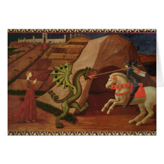 St. George and the Dragon, c.1439-40 Card