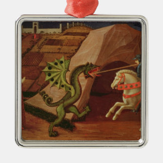 St. George and the Dragon, c.1439-40 Christmas Ornament