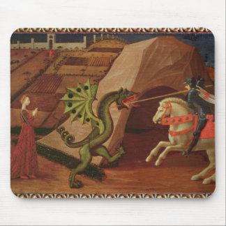 St. George and the Dragon, c.1439-40 Mouse Mat