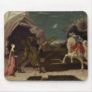 St. George and the Dragon, c.1470 Mouse Mat