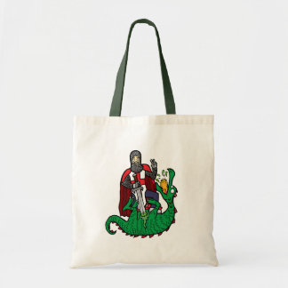 St George and the Dragon Canvas Bags