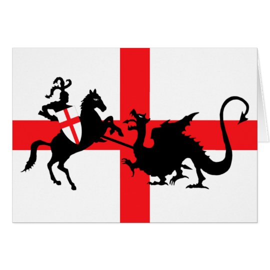St George and the Dragon Card