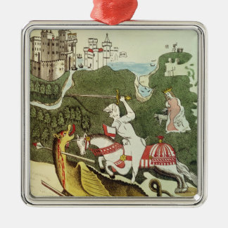 St. George and the Dragon Christmas Ornament