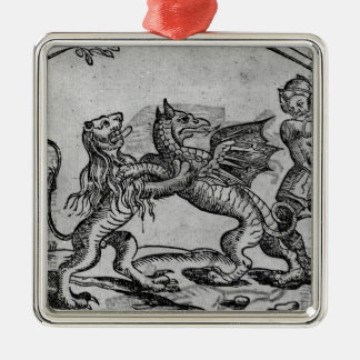 St George and the Dragon Christmas Ornament