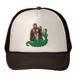 St George and the Dragon Hat