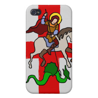 St. George and The Dragon iphone iPhone 4 Covers