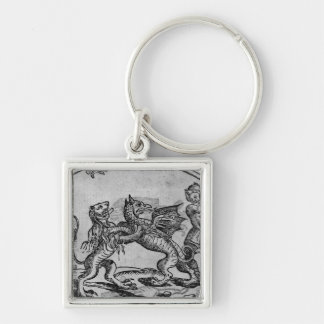 St George and the Dragon Key Ring