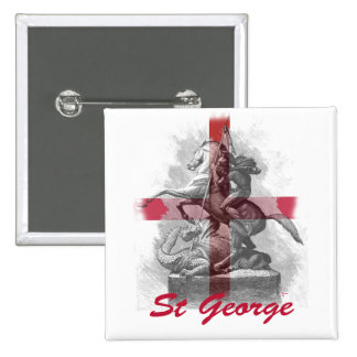 St George Pinback Buttons