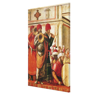 St. George Baptising the Gentiles Canvas Print