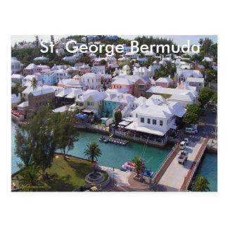St. George Bermuda Postcard