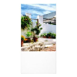 St George Bermuda - Sunny Street Customised Photo Card