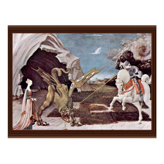 St. George Fighting The Dragon By Uccello Paolo