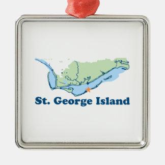 St George Island. Christmas Ornament