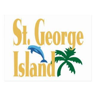 St George Island Florida Postcard