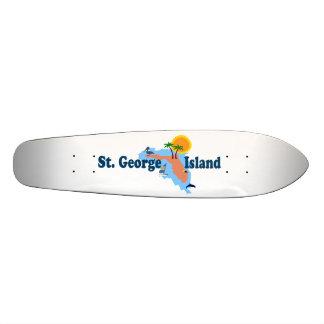 St. George Island. Skate Decks