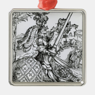 St. George on Horseback, 1507 Christmas Ornament
