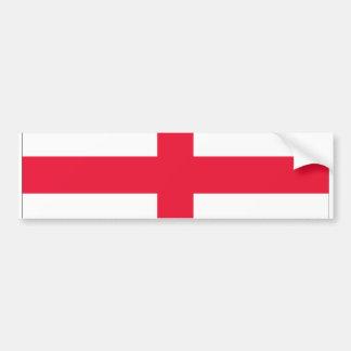 St George s Cross Bumper Sticker