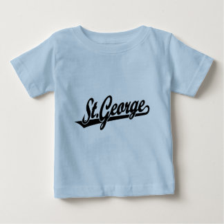 St. George script logo in black Baby T-Shirt