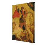 St. George slaying the Dragon Canvas Print