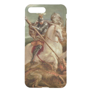 St. George slaying the dragon, (oil on panel) iPhone 8 Plus/7 Plus Case