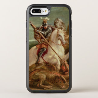 St. George slaying the dragon, (oil on panel) OtterBox Symmetry iPhone 8 Plus/7 Plus Case