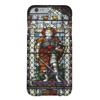 St George stained glass window Barely There iPhone 6 Case