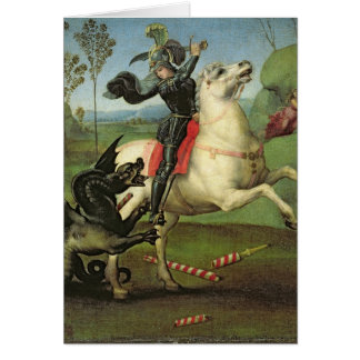 St. George Struggling with the Dragon Card