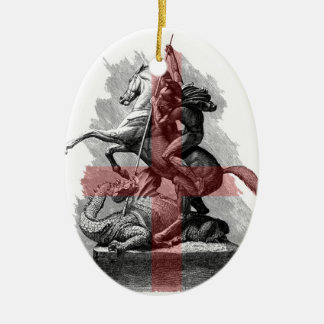 St George v2 Christmas Ornament