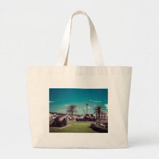 St Georges Cannons Large Tote Bag