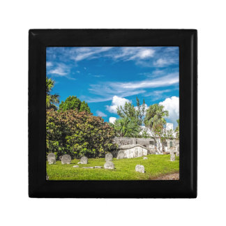 St Georges Cemetery Small Square Gift Box